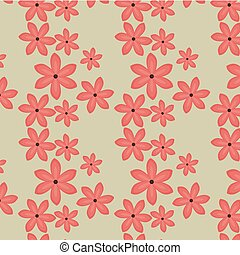 tropical seamless pattern floral
