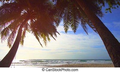 Tropical Seascape from Phuket Island Paradise