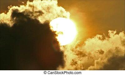 Tropical Sun Behind Cloud3
