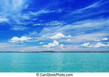Summer paradise at sea side