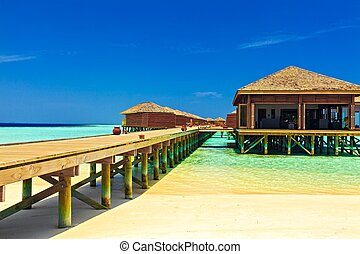 Tropical Water Bungalows, Maldives - Nice tropical water...