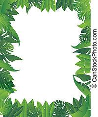 tropical zöld, háttér