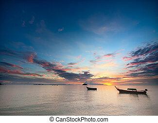 tropicale, alba