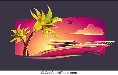 tropicale, elite, yacht, lusso, resto