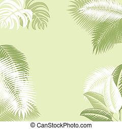 tropicale, fondo