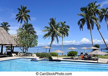 tropicale, Ricorso, stagno
