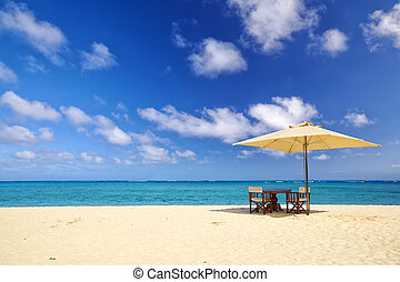 tropicale, spiaggia sabbia