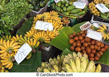 Tropicals fruits in Thai market