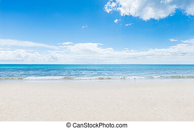 tropico, tailandese, spiaggia