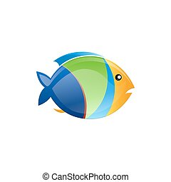 tropikalna ryba, wektor