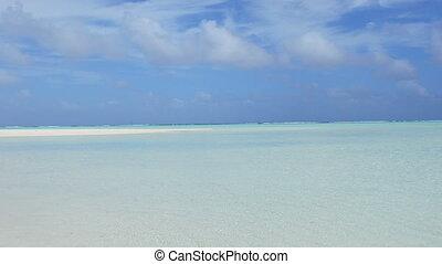 tropikalna wyspa, motu, krajobraz