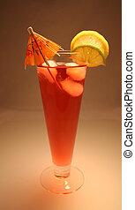 tropikalny napój, chłodny
