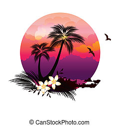 tropique, île