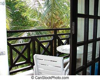 tropique, fenêtre