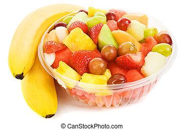 tropisch fruit, kom