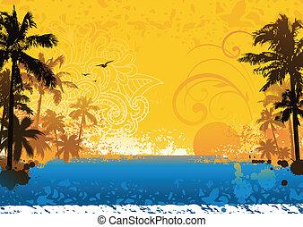tropische , achtergrond