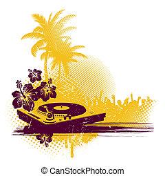 tropische , disko