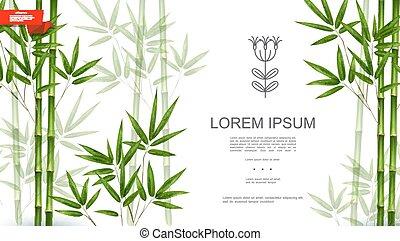 tropische , grünpflanze, natürlich, hintergrund