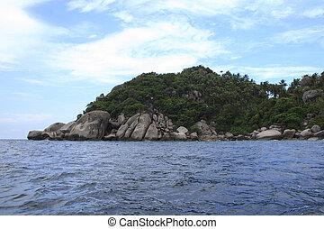 tropische, Insel