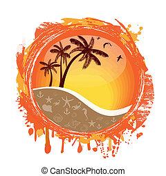 tropische , sonne
