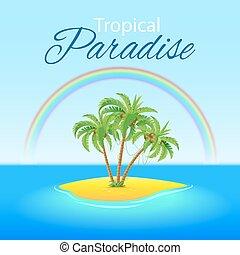 tropische szene
