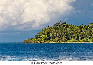 tropisk, ö