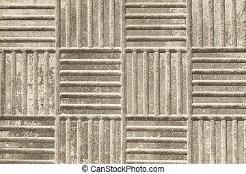 trottoar, struktur