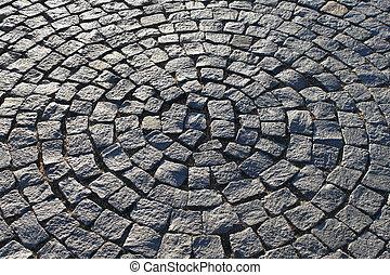 trottoir, cercle, formulaire