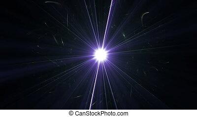 trou noir, étoile, 4k
