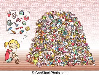 trouver, objets, visuel, game., solution, dans, caché, layer!