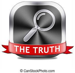 trouver, vérité