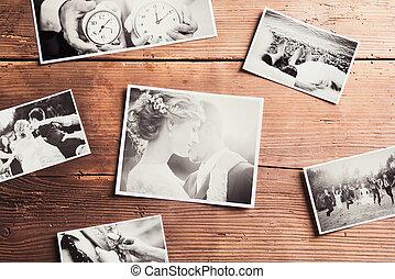 trouwfeest, foto's