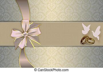 trouwfeest, invitation.