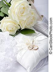 trouwfeest, stilleven