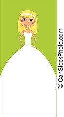 trouwfeest, verticaal, uitnodiging