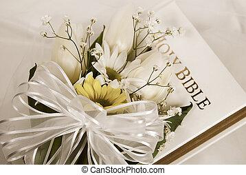 trouwfeest, witte