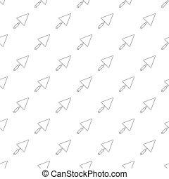 Trowel pattern seamless
