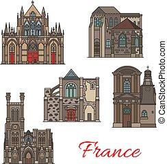 troyes, iconos de viajar, francés, arquitectura, señal