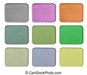 truccare, tavolozza dei colori