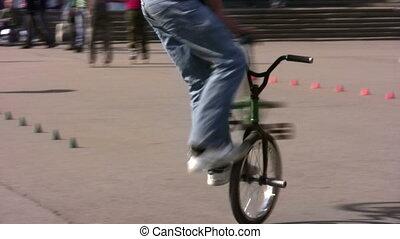 trucco, bicicletta