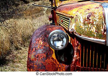 Truck Abandoned