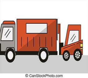 truck and forklift delivery service