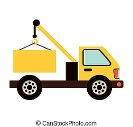 truck construction vehicle icon