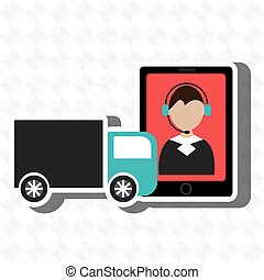 truck delivery shipping market