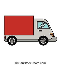 truck delivery transport image