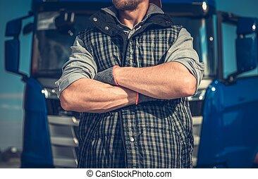 Truck Driver Workhorse