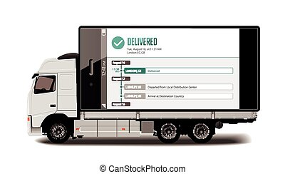 Truck - fast delivery