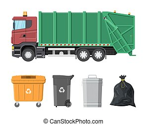 Recycling and utilization equipment - Truck for assembling...