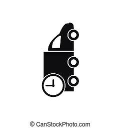 truck icon. delivery icon vector
