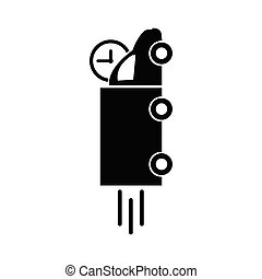 truck icon. delivery icon vector